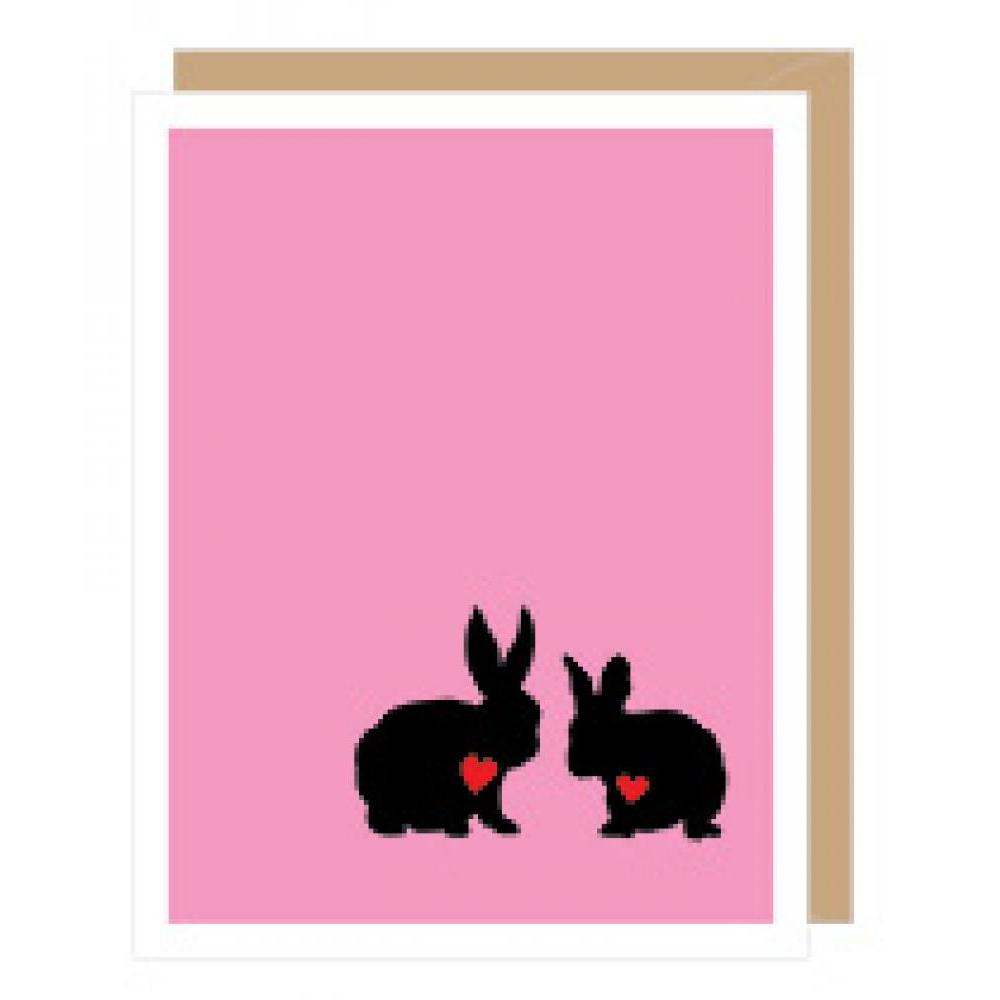 Valentines - Two Rabbits