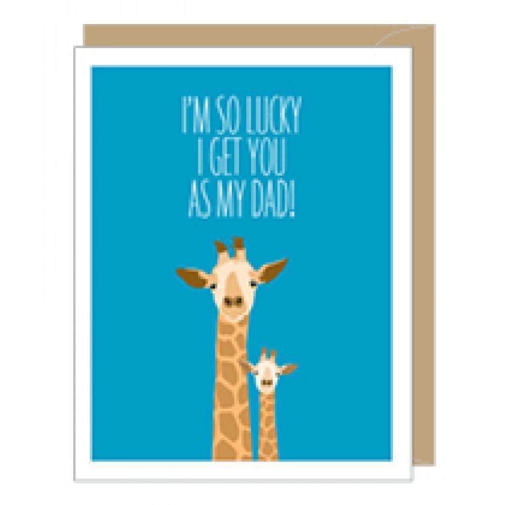 Fathers Day - Giraffe Dad