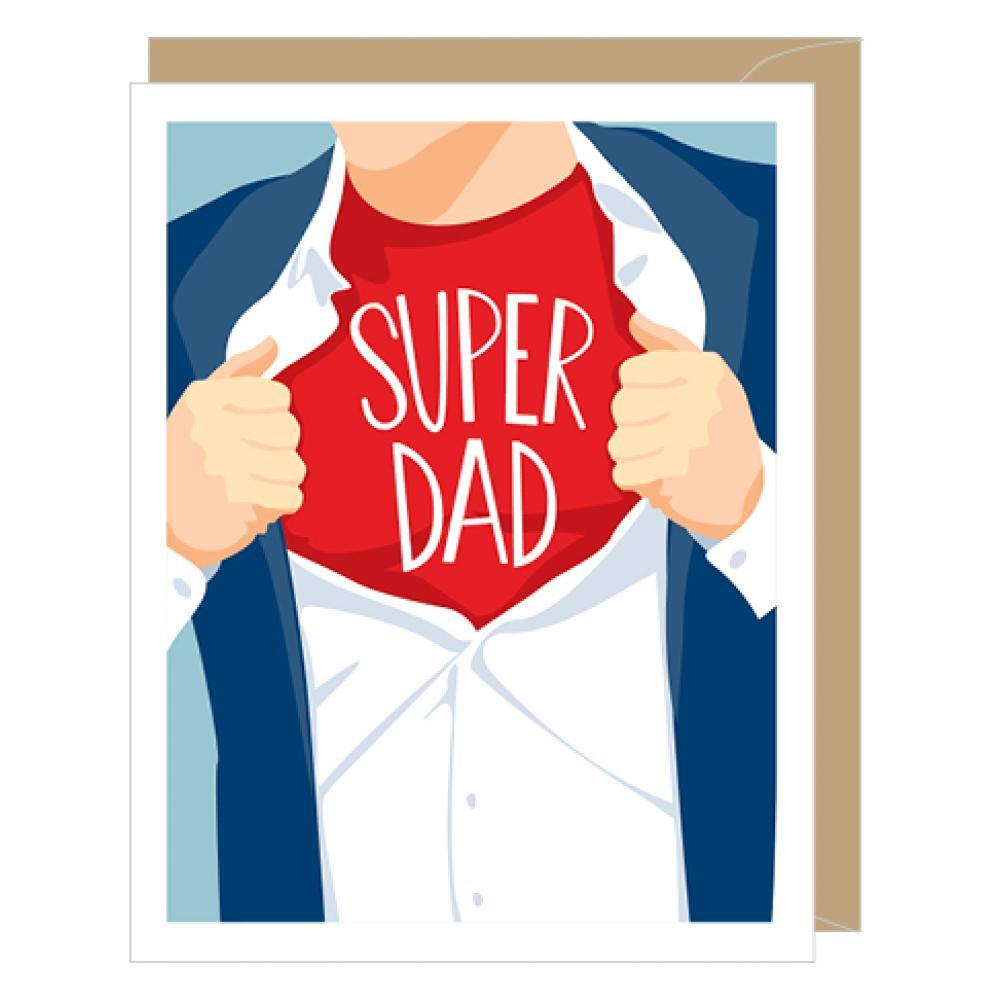 Fathers Day - Super Dad
