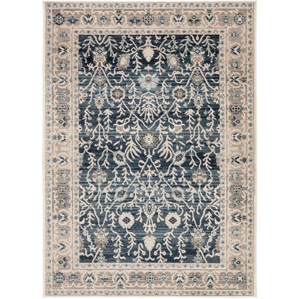 Berkley Bellamy Majolica Blue 5ft 3in X 7ft 10in Rug