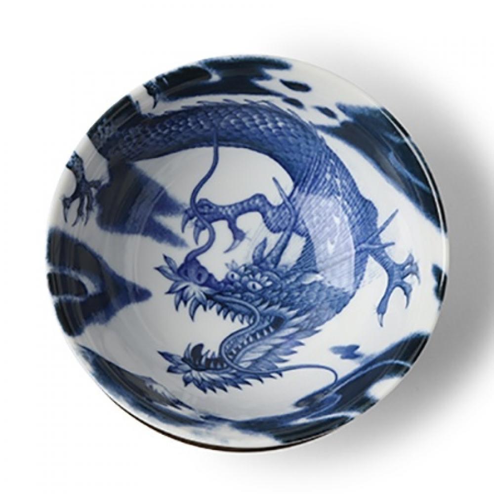 Bowl Flying Dragon 8.25in