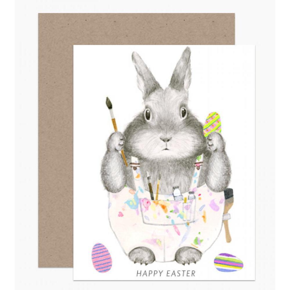 Easter - Painter Rabbit