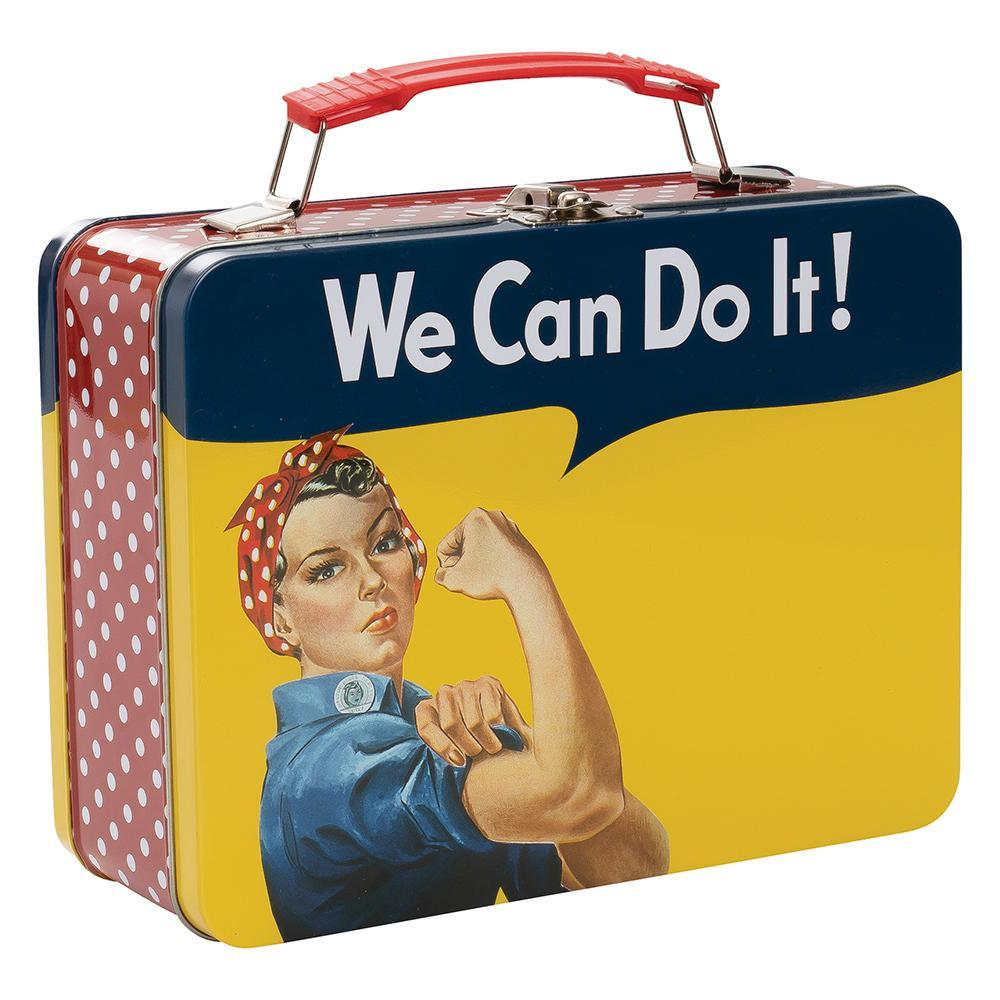 Tin Tote - Smithsonian Rosie The Riveter Large