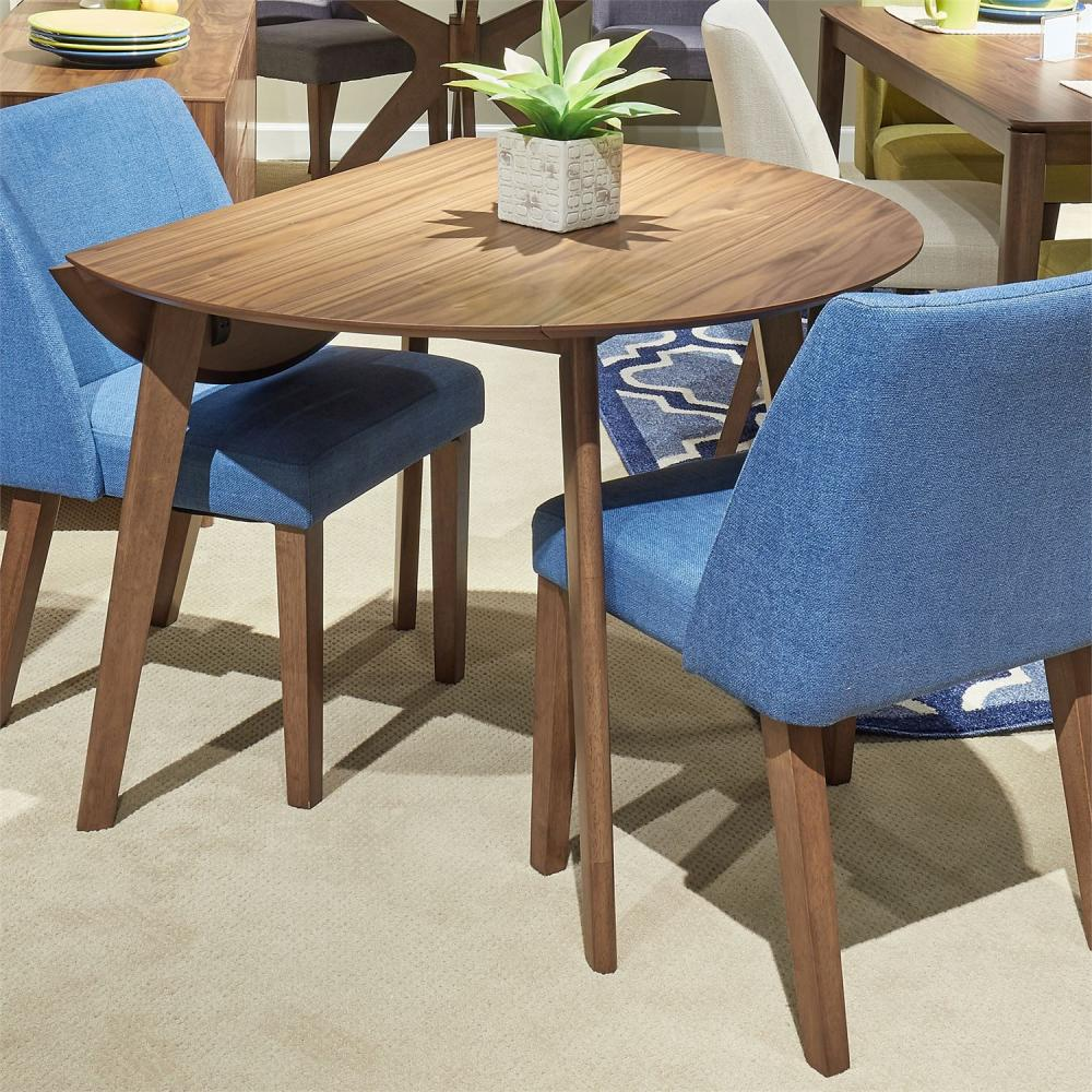 Spacesaver Group Drop Leaf Dining Table
