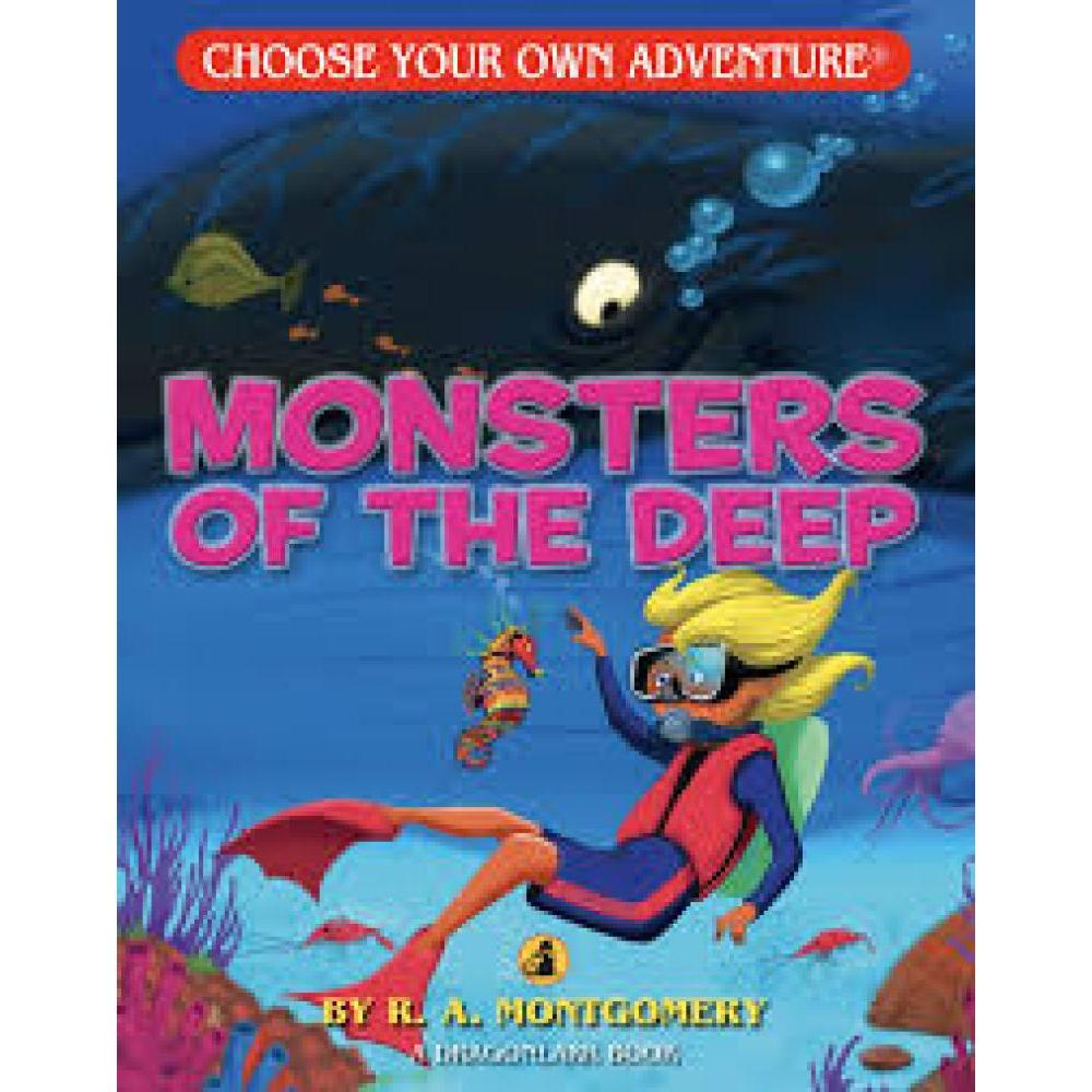 Choose Your Own Adventure Dragonlarks Monsters of the Deep