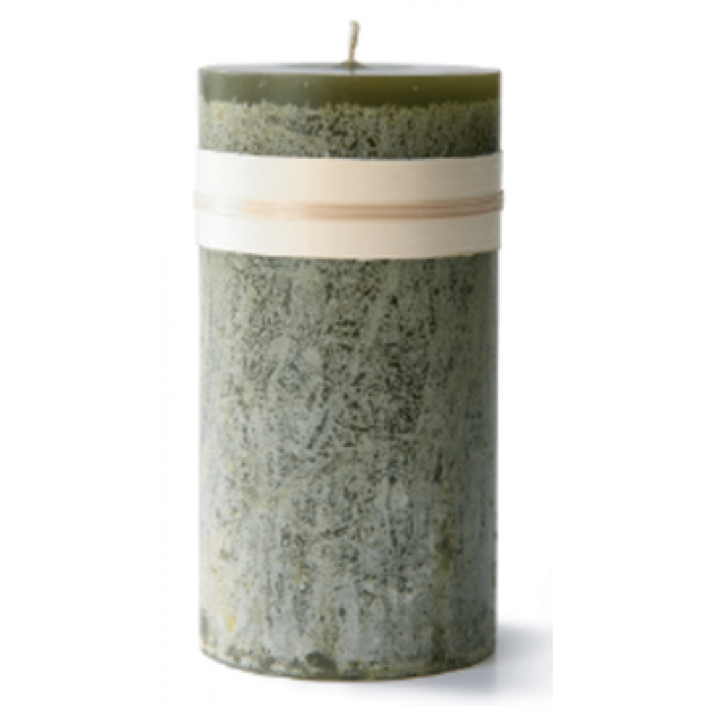 3.25 X 3in Pillar Candle - Moss