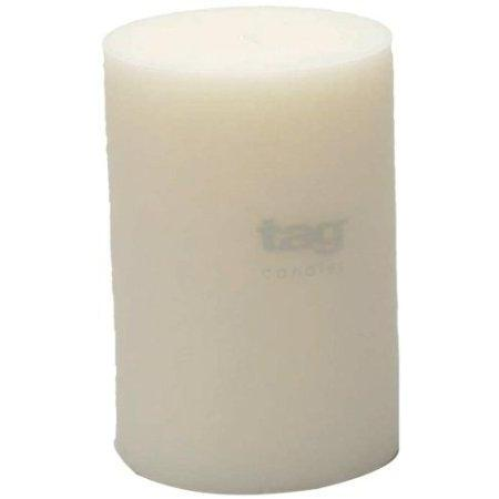 Pillar Candle 4x6 White