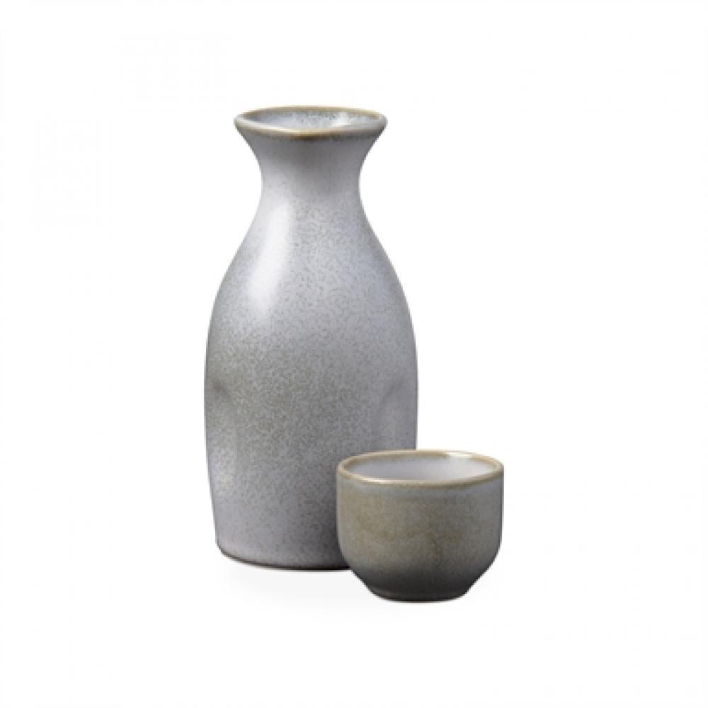 Large Saki Set Gray