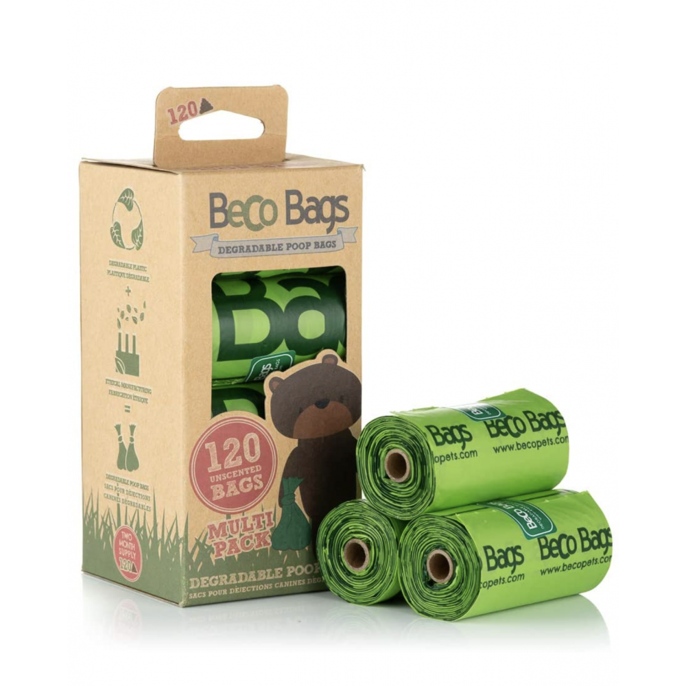 Dog Waste Bags Beco 120ct Unscented
