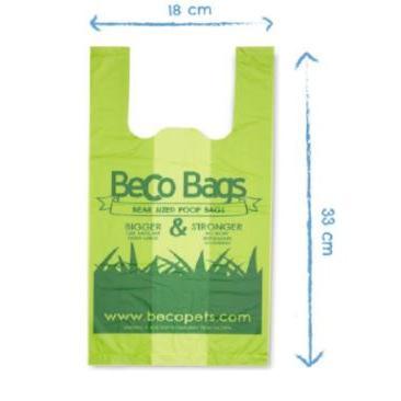 Dog Waste Bags Beco 120ct Handled Bigger Bag Unscented
