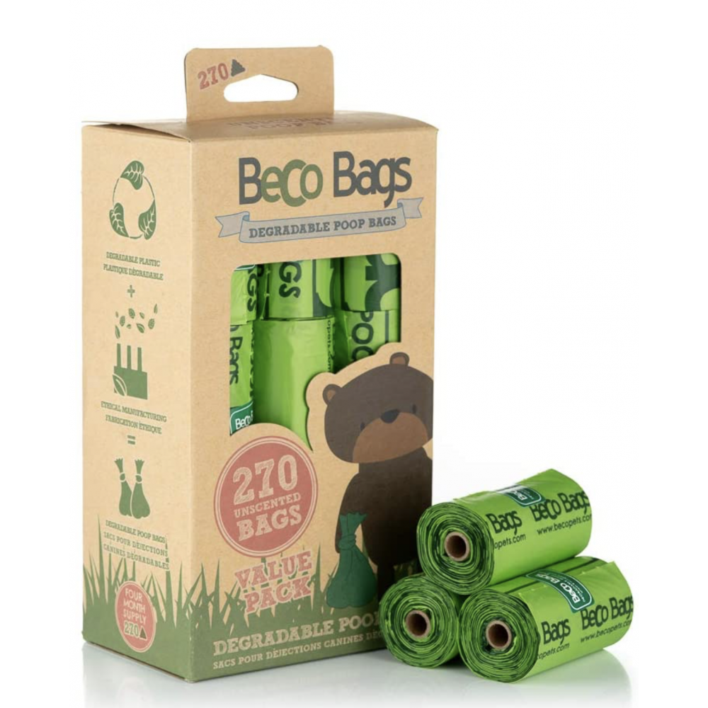 Dog Waste Bags Beco 270ct Unscented