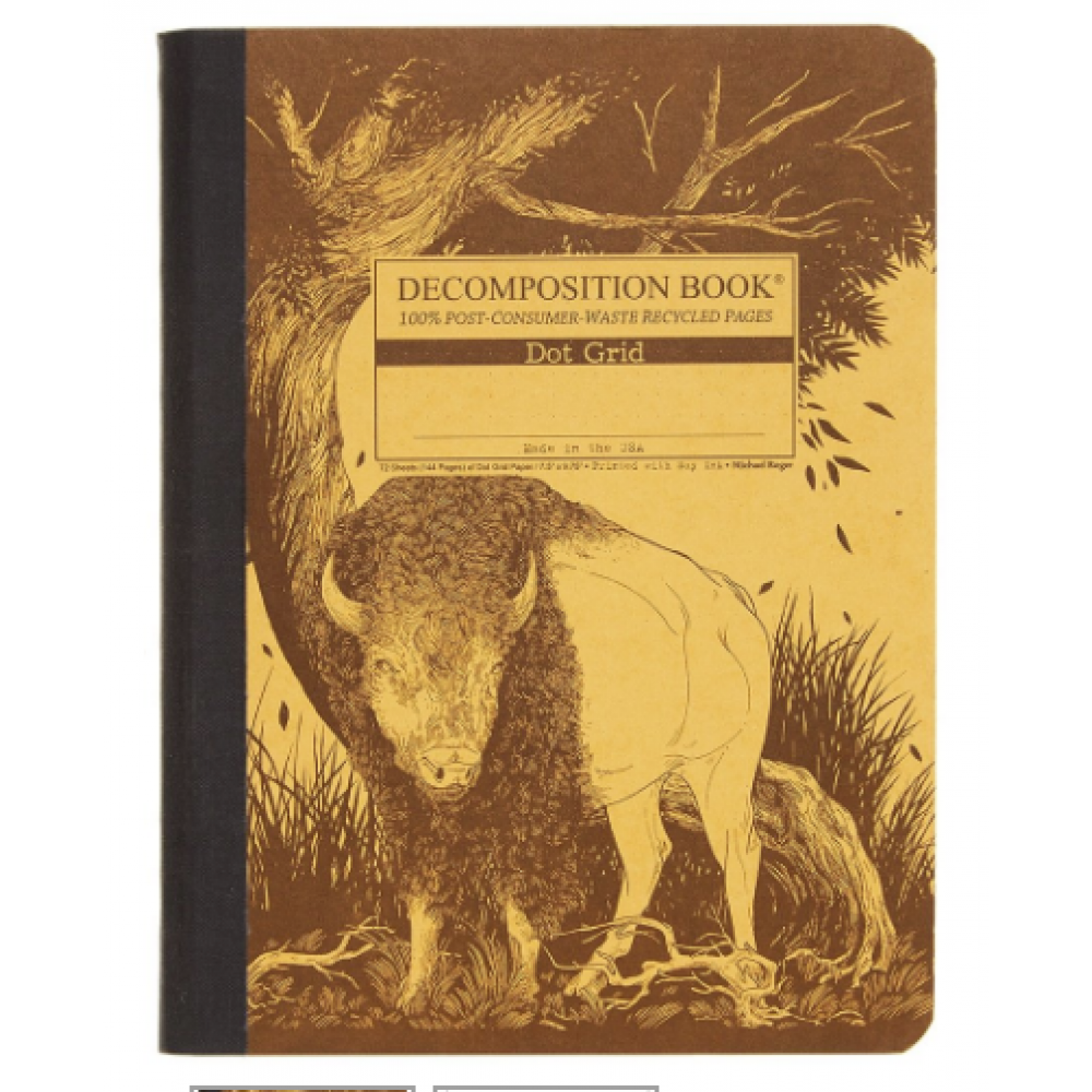 Decomposition Notebook - Dot Grid - Bison