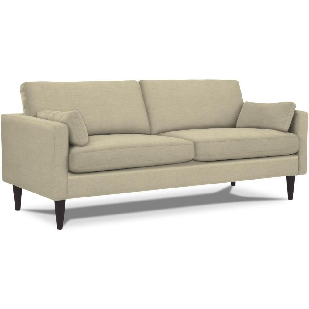 Trafton Sofa Leather Polyurethane Match Grey ( Picture Does Not Reflect Leather, Color is Approximation)