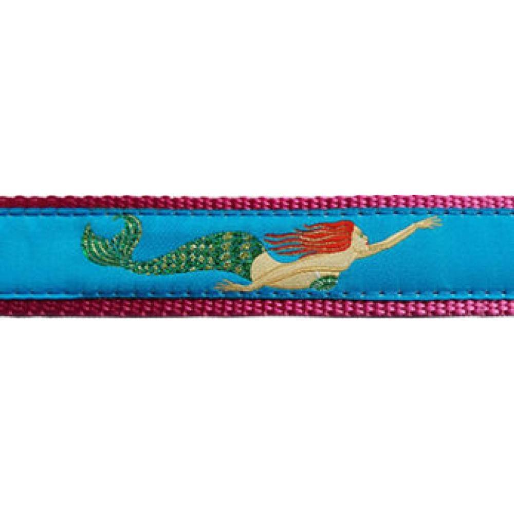 Dog Collar 11-18in  Mermaid