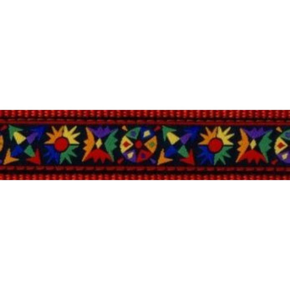 Dog Collar 11-18in Tribal
