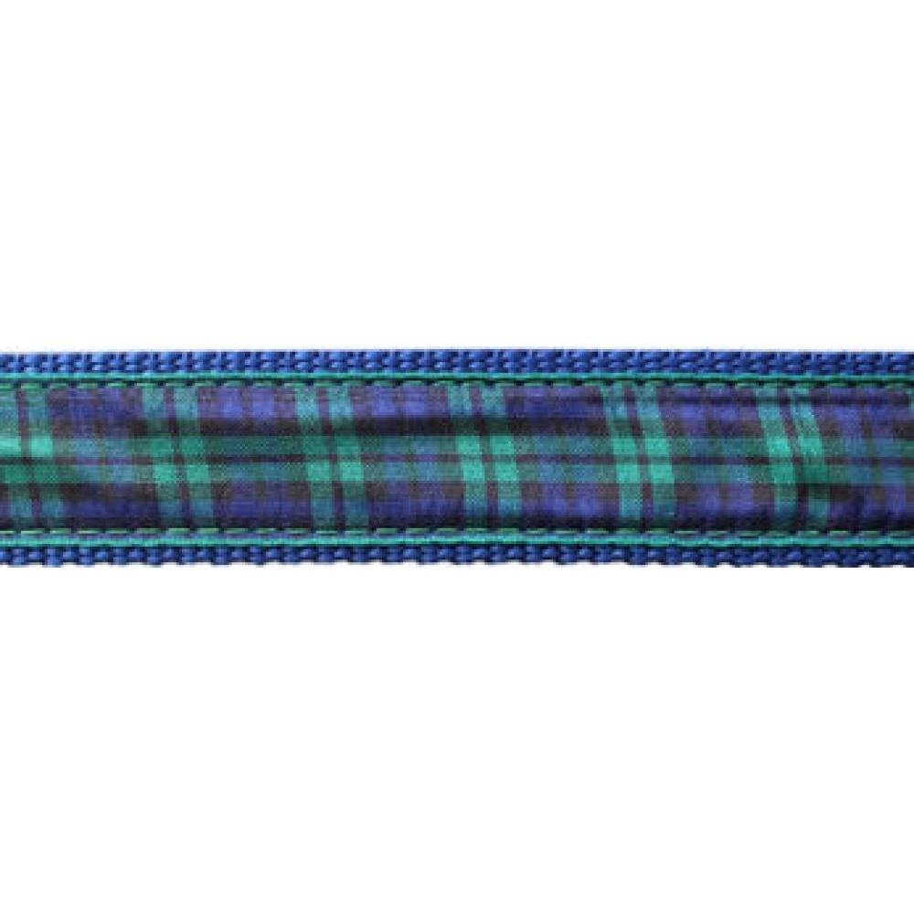 Dog Collar 12-20in Blackwatch Plaid