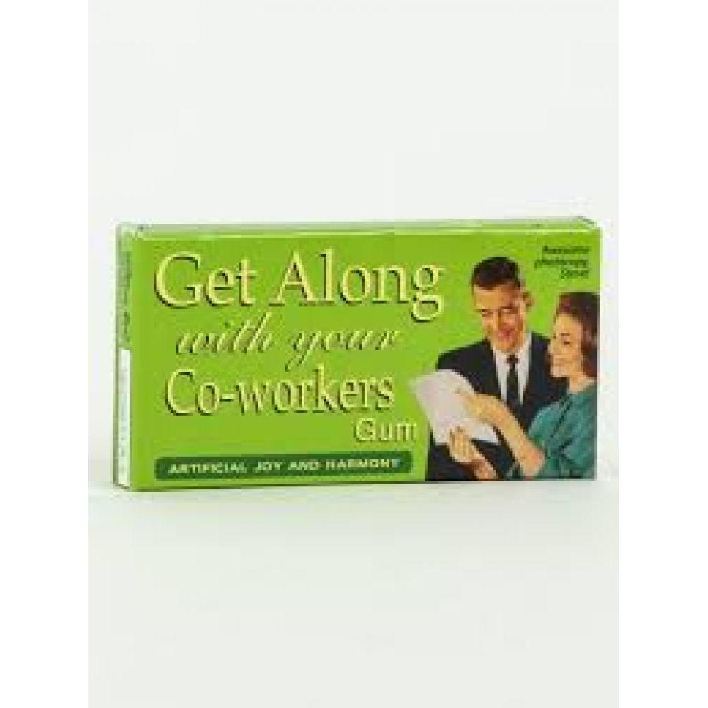 Novelty Gum - Get Along W Coworkers