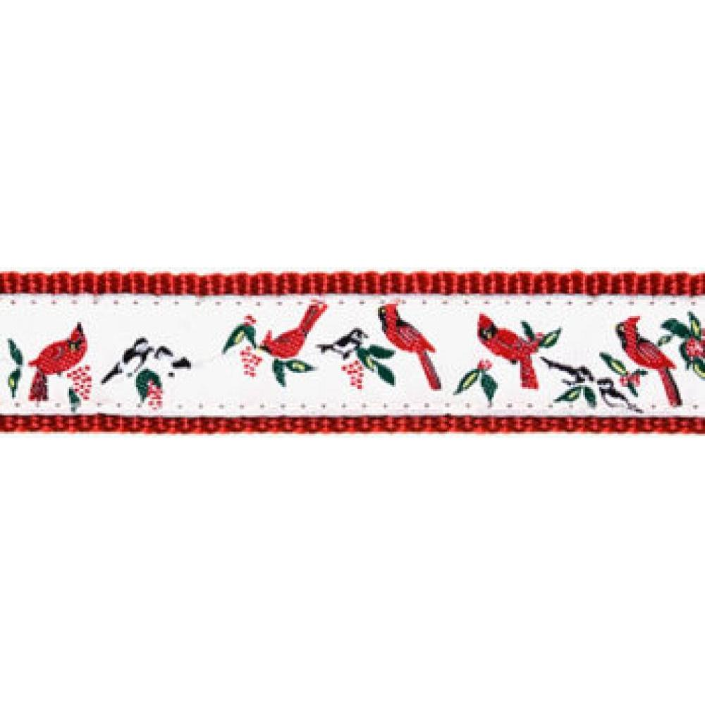 Dog Collar 15-24in Cardinal
