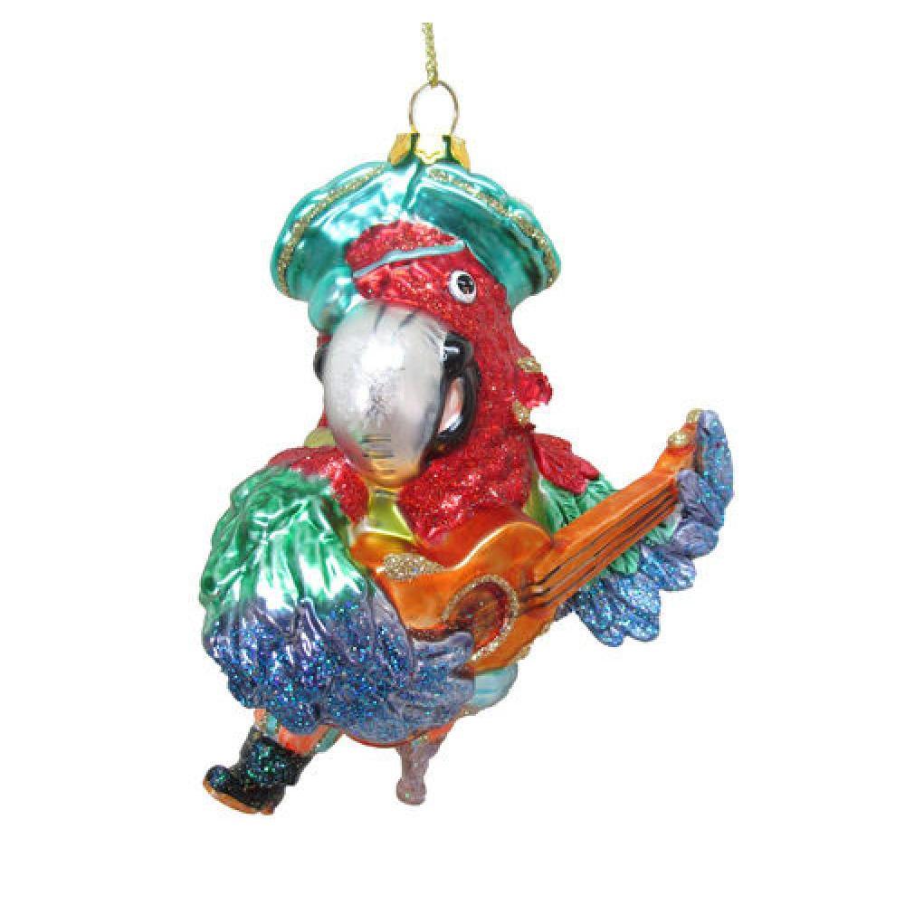 Ornament - 4.5\' Pirate Parrot