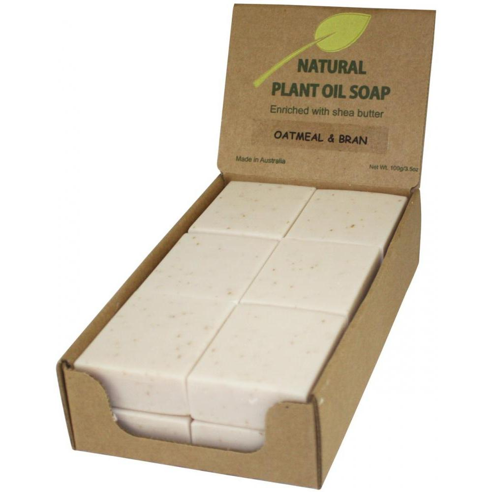 Soap Bar 3.5 Oz 100g Oatmeal and Milk