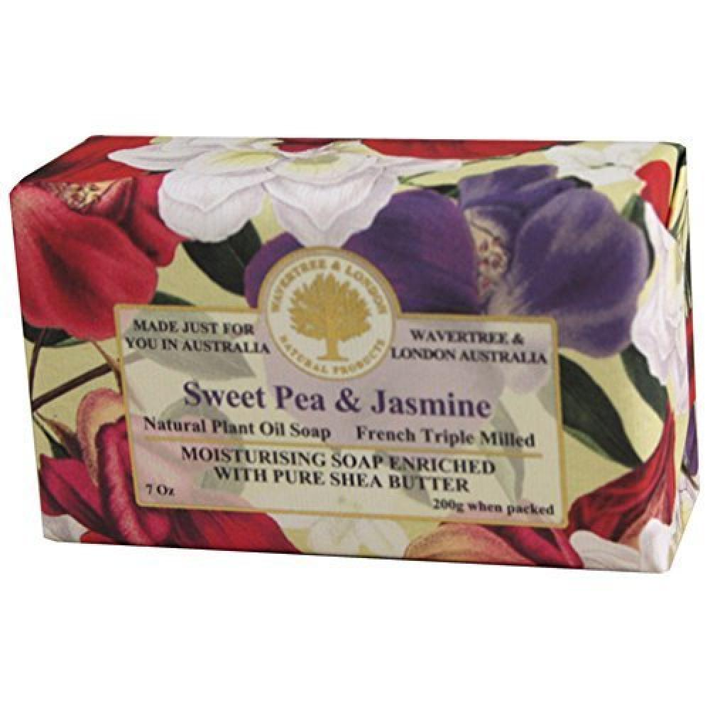 Soap Bar 3.5 Oz 100g Sweet Pea And Jasmine