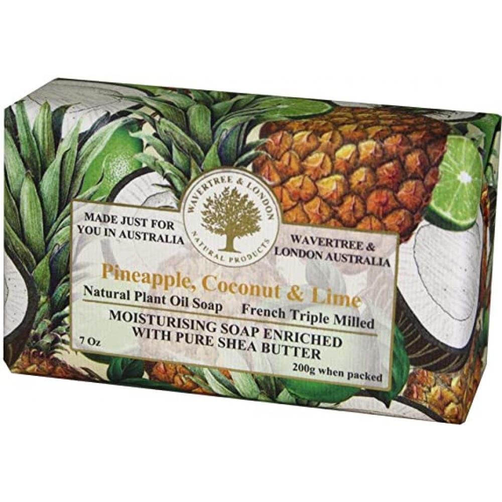Soap Bar 3.5 Oz 100g Pineapple Coconut and Lime