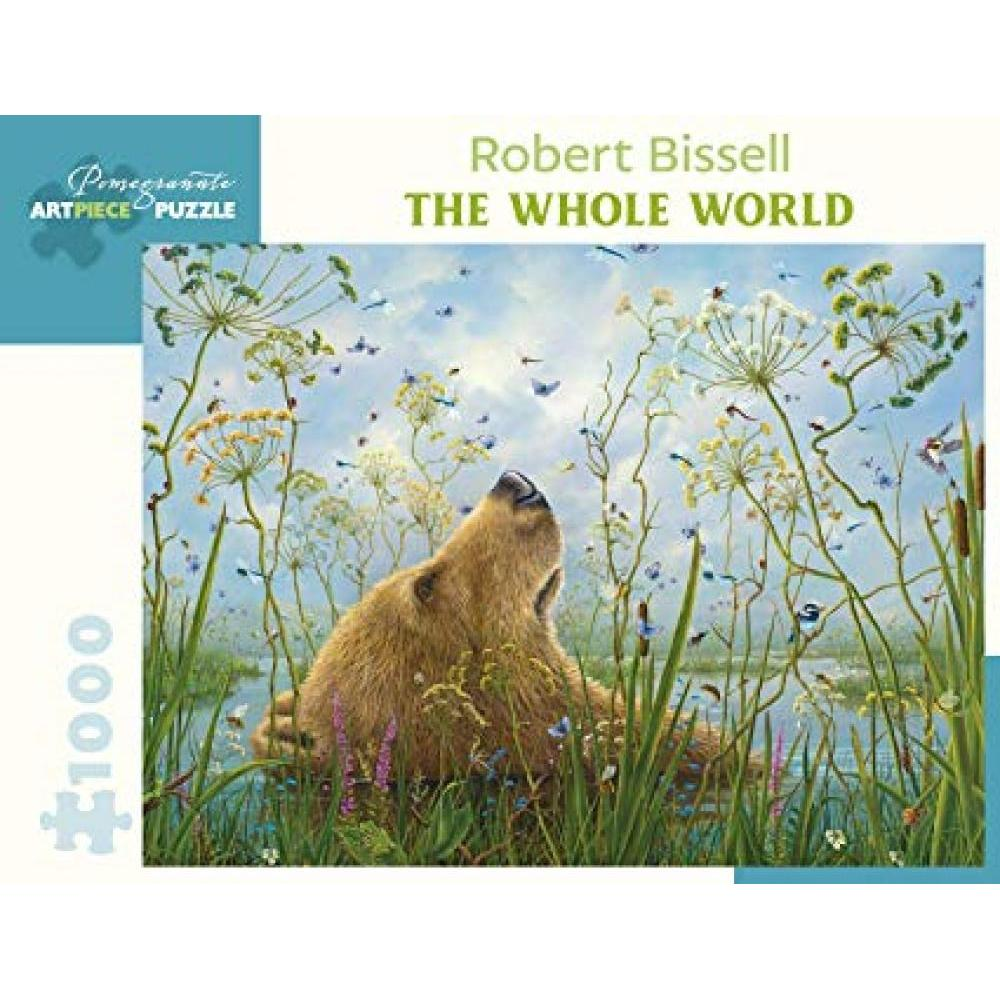 Puzzle 1000 Piece Robert Bissell The Whole World