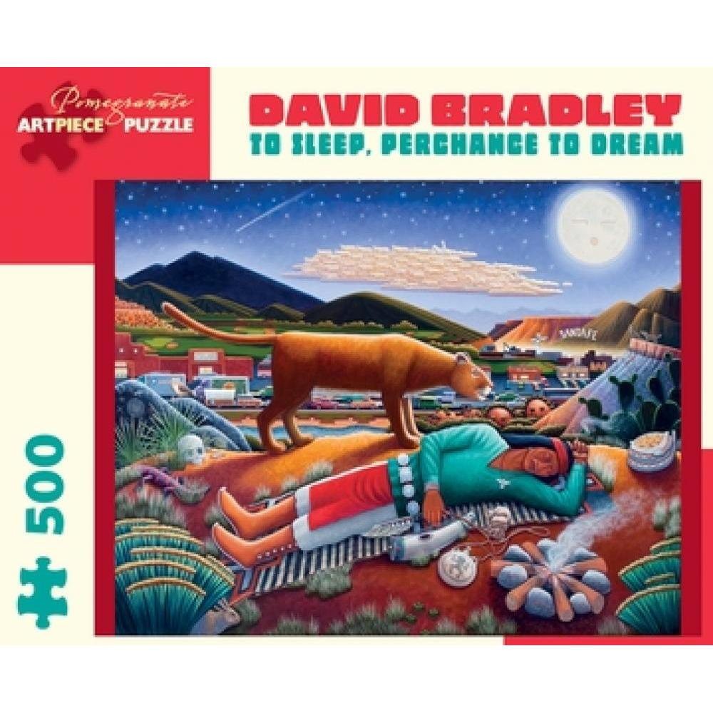 Puzzle 500 Piece David Bradley To Sleep Perchance To Dream