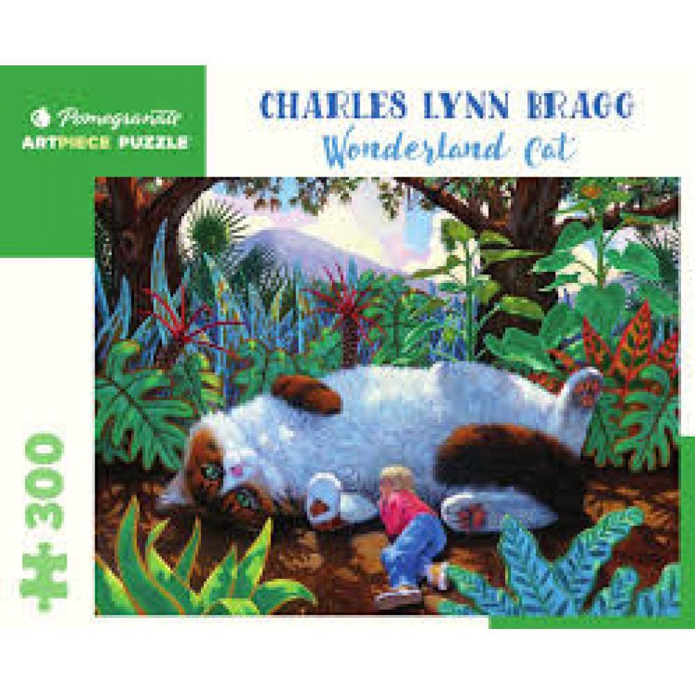 Puzzle 300 Piece Charles Lynn Bragg Wonderland Cat