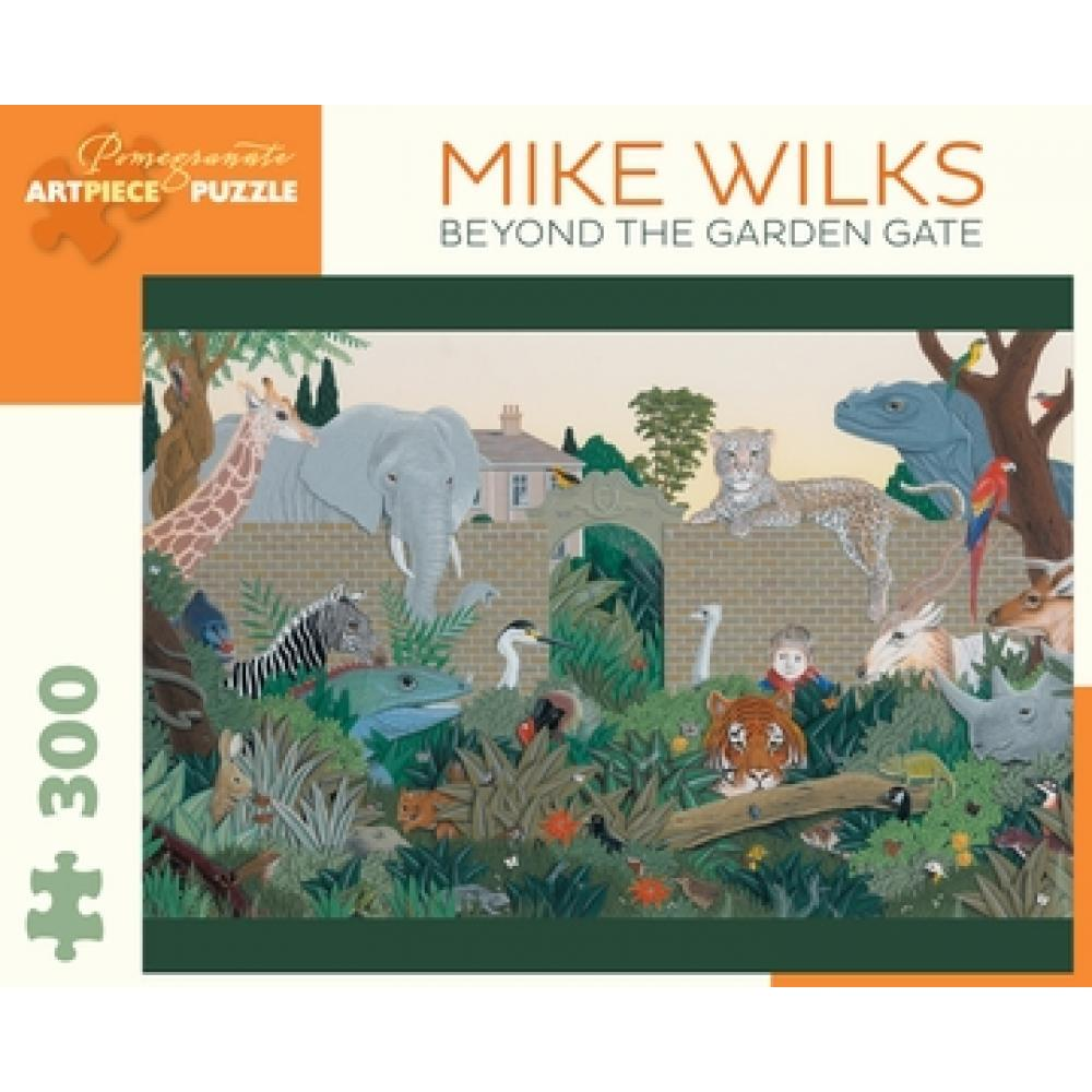 Puzzle 300 Piece Mike Wilks Beyond the Garden Gate