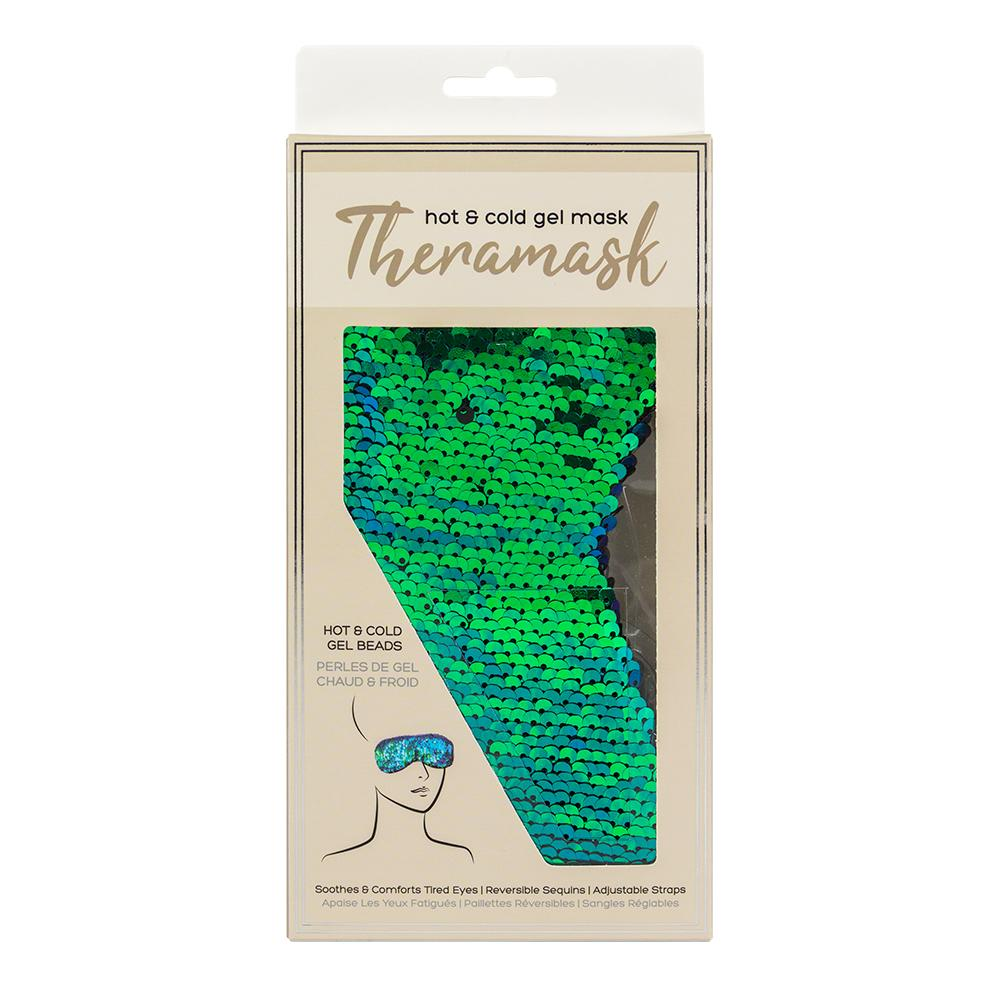 Lindo Thermamask Hot & Cold Gel Beads Mask Green