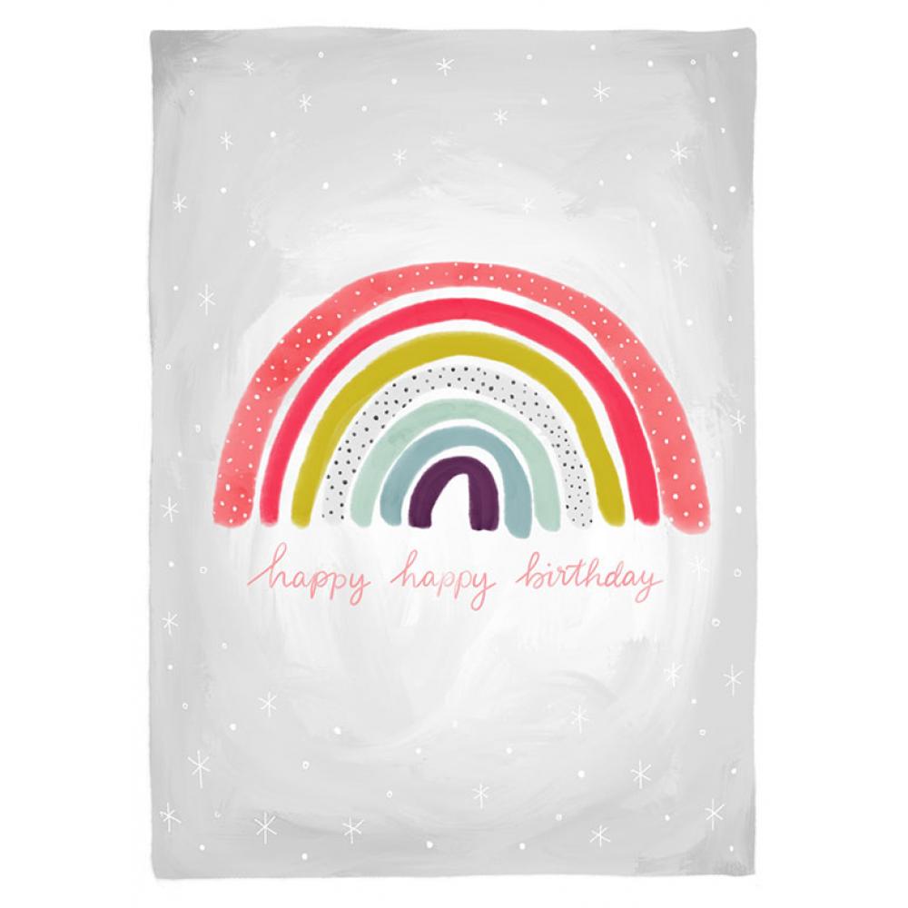 Birthday - Rainbow