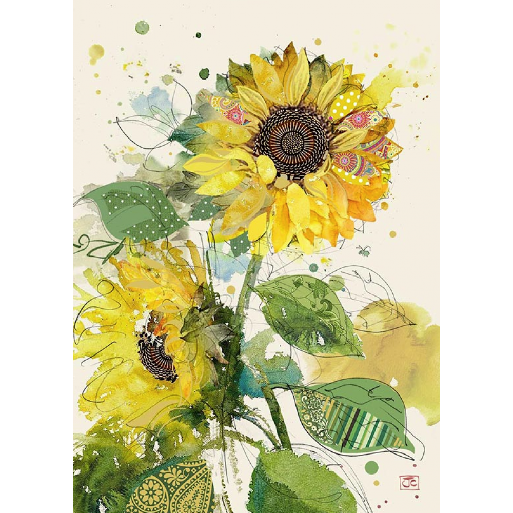 Any Occassion - Bug Art - Sunflowers