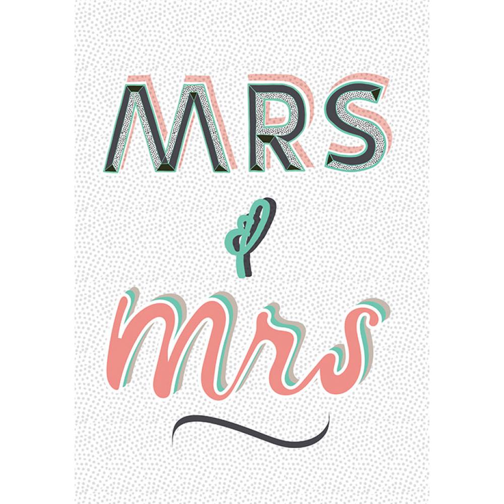 Wedding - Mrs Mrs