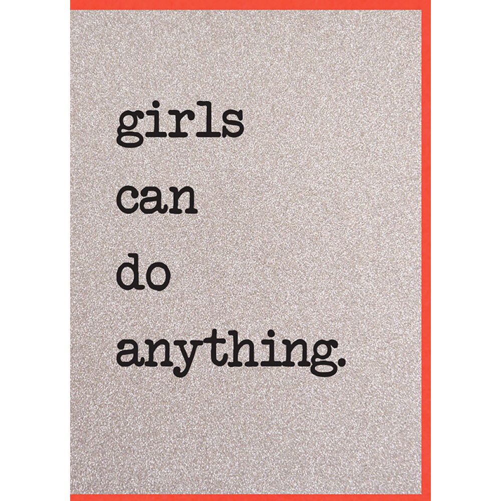 Any Occasion - Girls Can Do