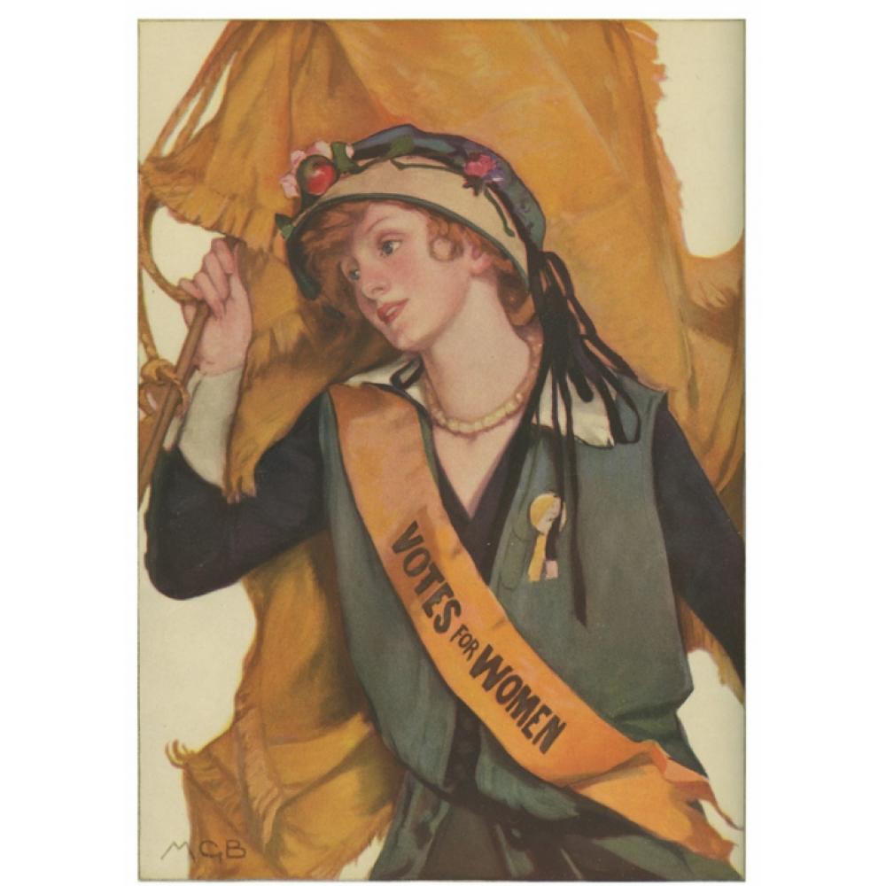 Postcard - Votes for Women