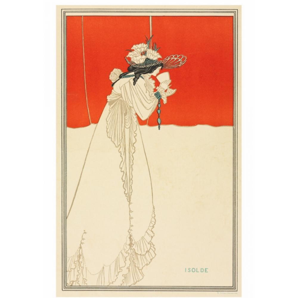 Postcard - Isolde