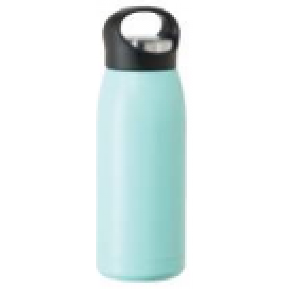 travel water bottle free style17oz vac insulated blue sky