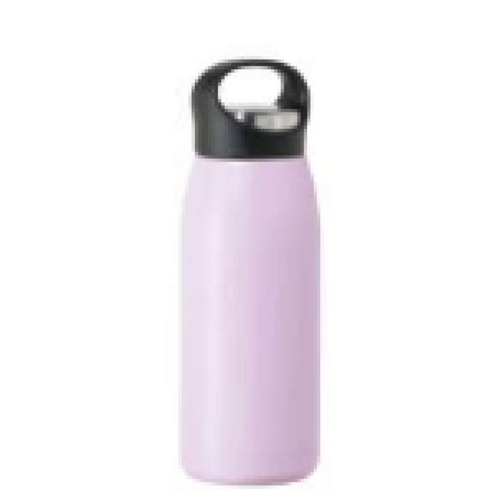 travel water bottle free style17oz vac insulated lavender
