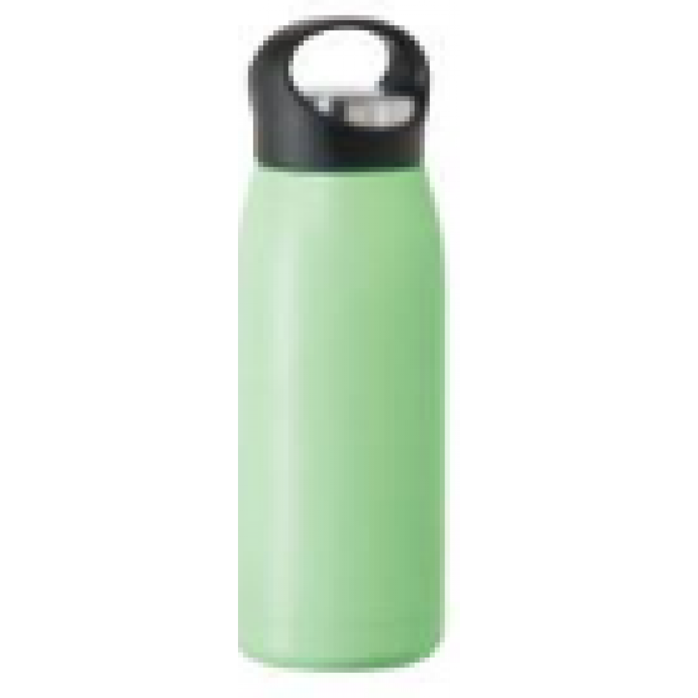 travel water bottle free style17oz vac insulated mint