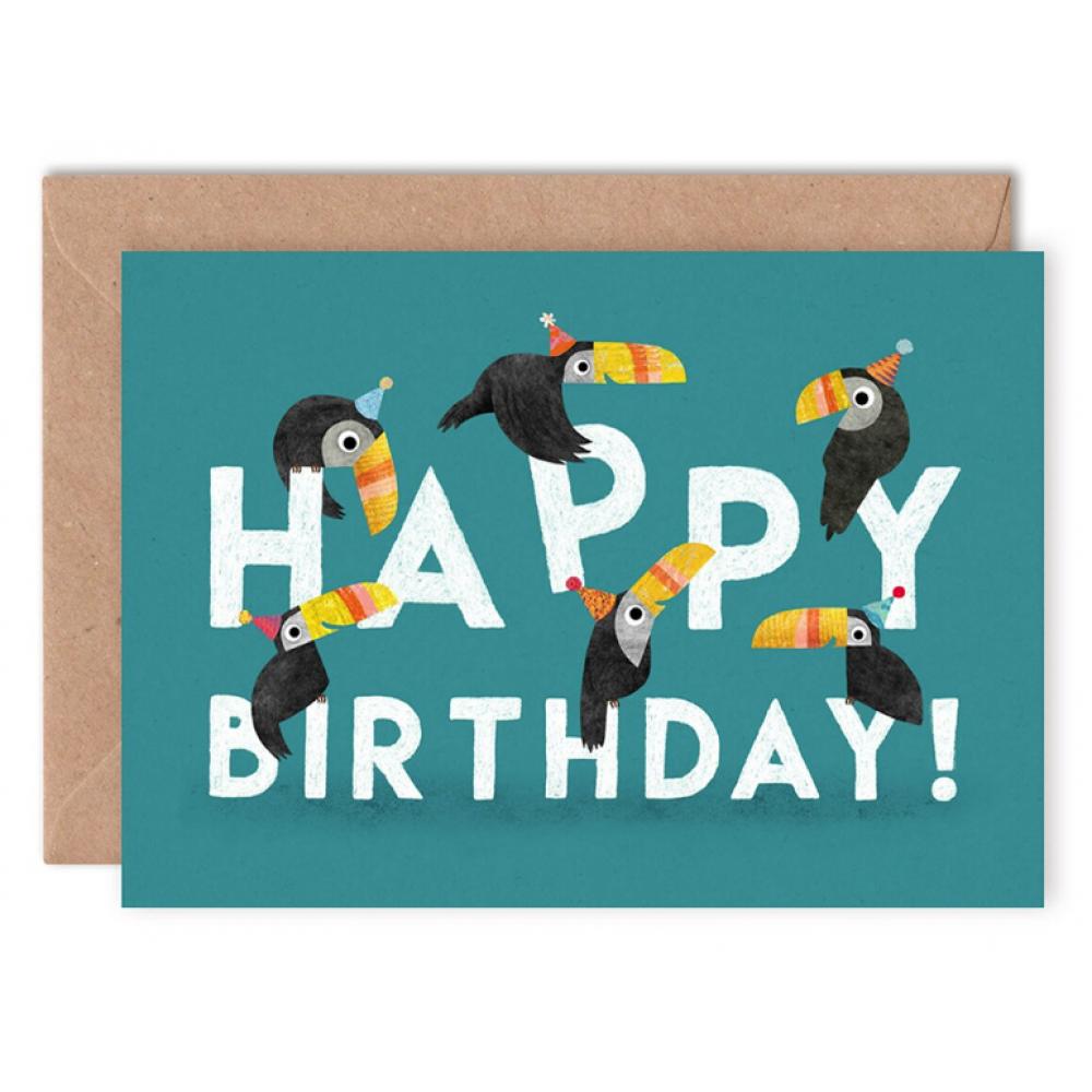 Birthday - toucans