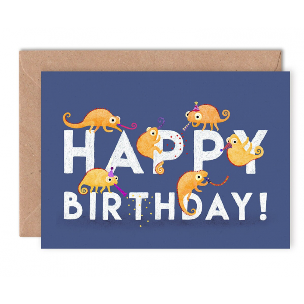 Birthday - Chameleons