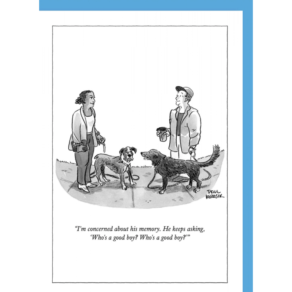 Any Occasion - New Yorker - Who\'s A good boy