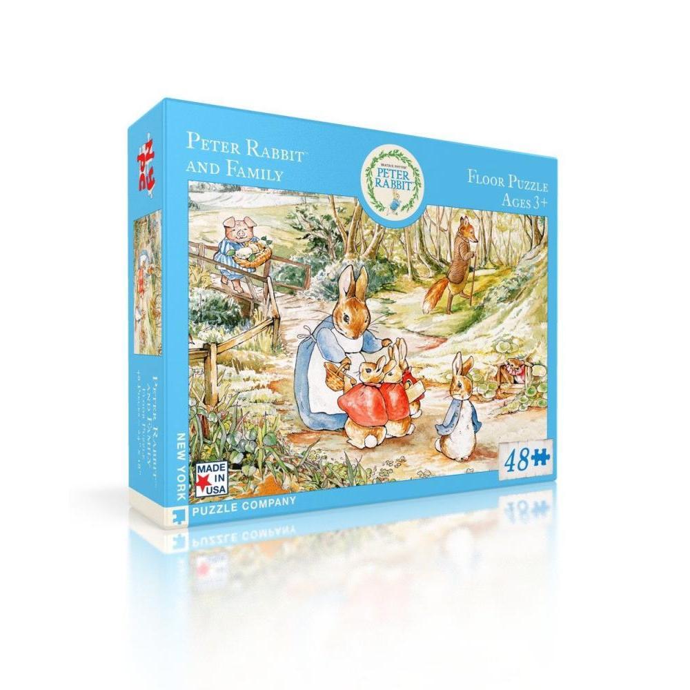 Beatrix Potter Floor Puzzle 48 Piece Peter Rabbit and Family