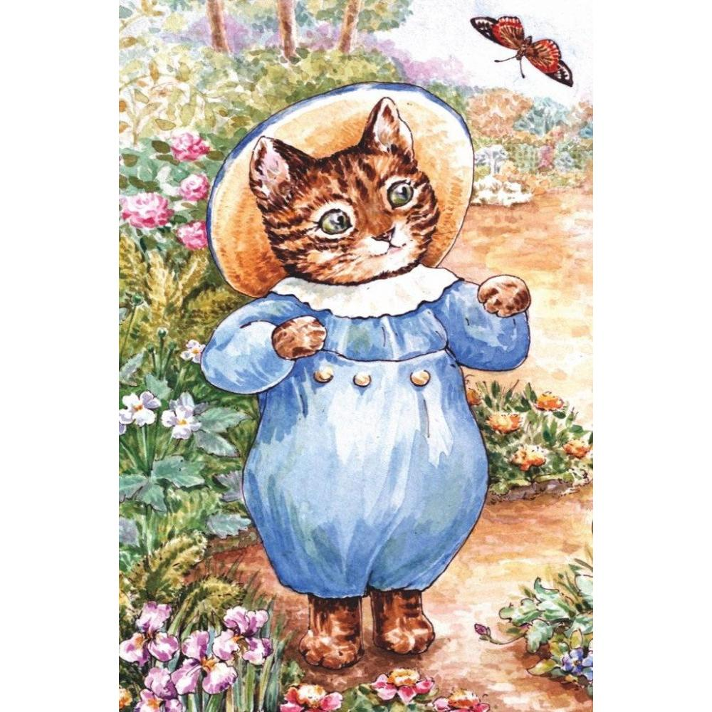 Beatrix Potter Mini Puzzle 20 Piece Tom Kitten