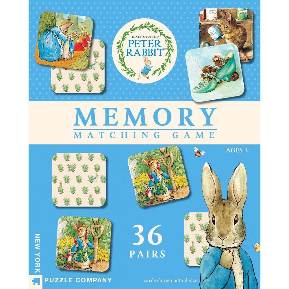 Beatrix Potter Game Memory Match Peter Rabbit 36 Pairs