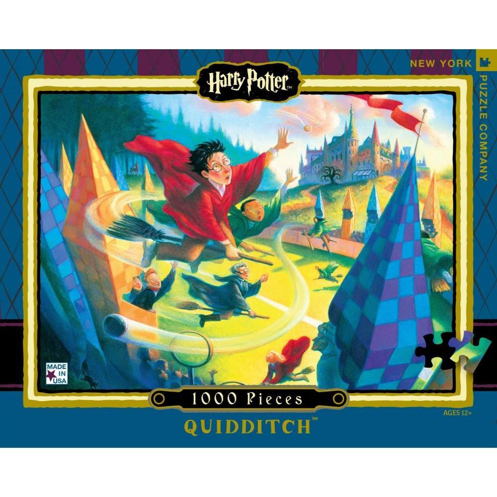 Harry Potter Puzzle 1000 Piece Quidditch