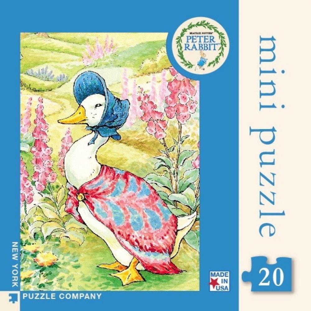 Beatrix Potter Mini Puzzle 20 Piece Jemima Puddle Duck