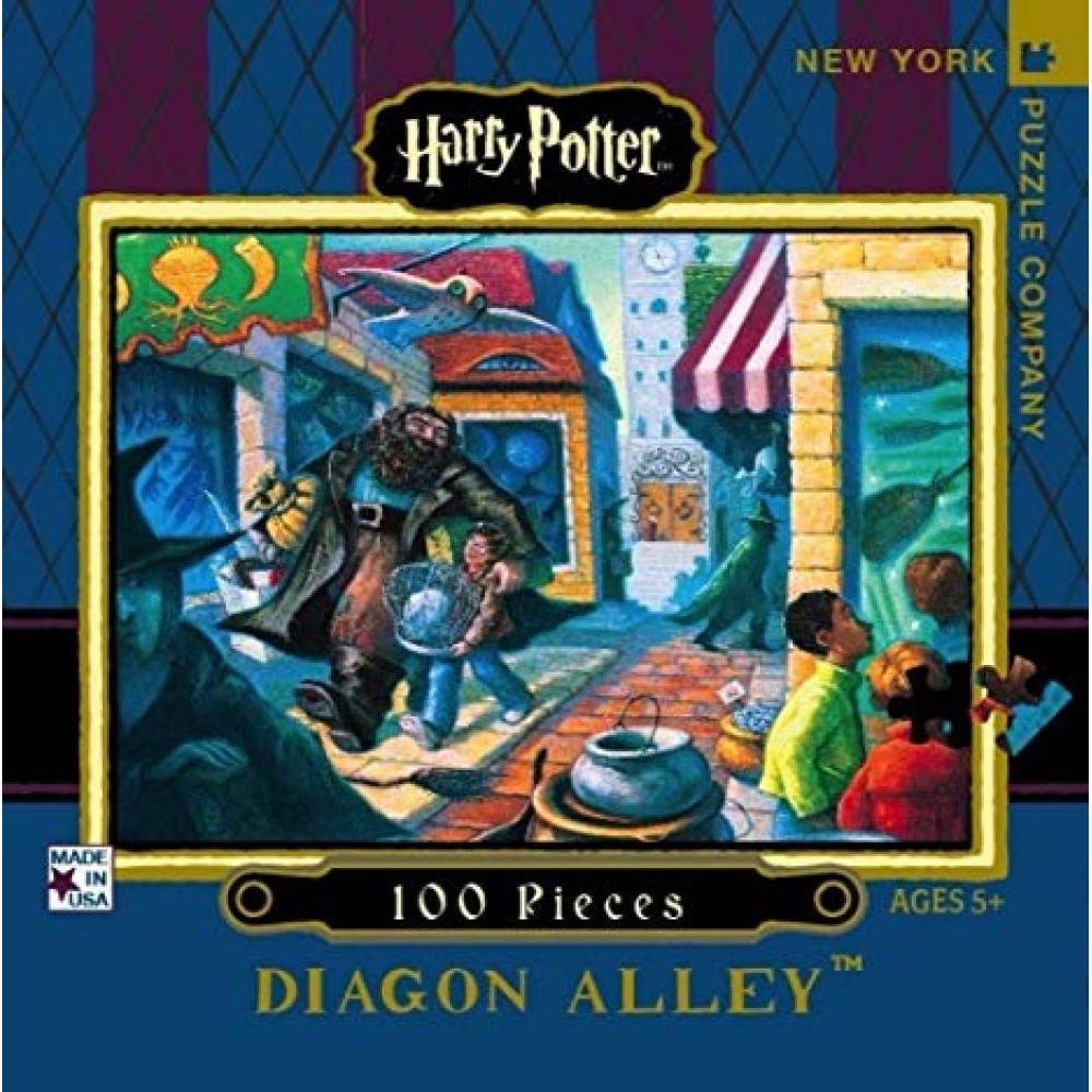 Harry Potter Mini Puzzle 100 Piece Diagon Alley