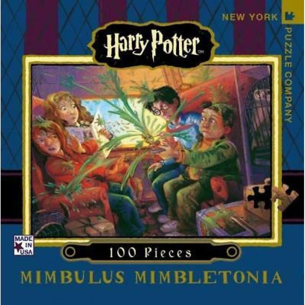 Harry Potter Mini Puzzle 100 Piece Mimbulus Mimbletonia